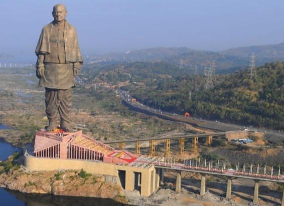 Statue of Unity-Sardar Vallabhbhai Patel Statue World Tallest Statue Image