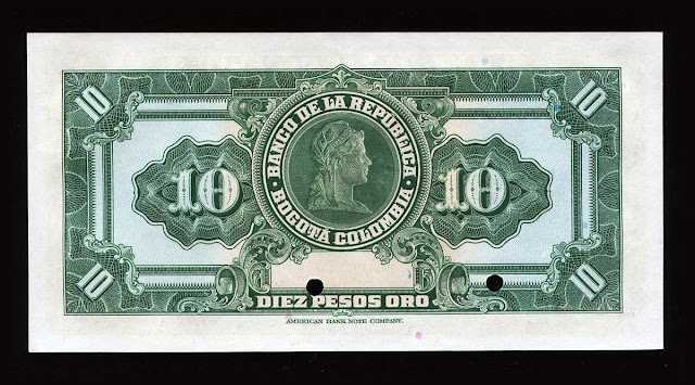 10 Colombian Pesos