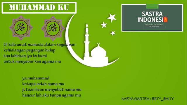 Puisi agama MUHAMMAD KU | 34 Sastra Indonesia