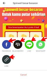 Share aplikasi Berita Saku