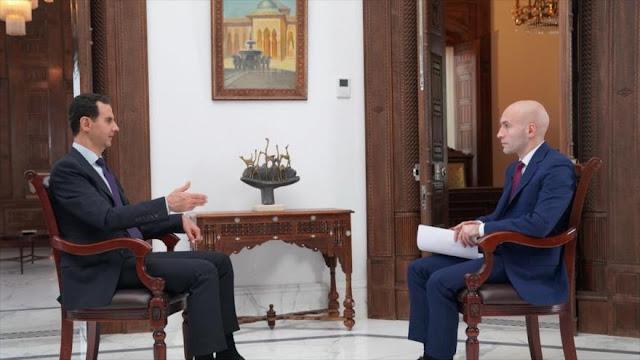 """""""Eres lo que dices"""": Así responde Al-Asad a insultos de Trump"""
