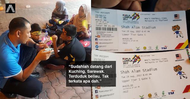 'Kesian brader ini... burn 400!' - Satu keluarga dari Sarawak ditipu ulat tiket