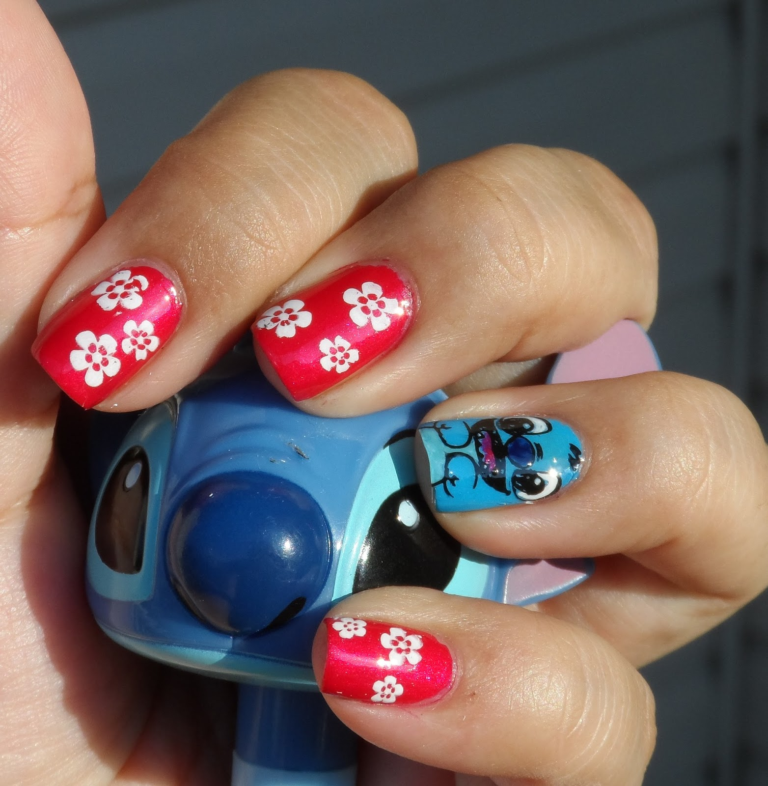 Just Me and My Nails: Lilo and Stitch Nails