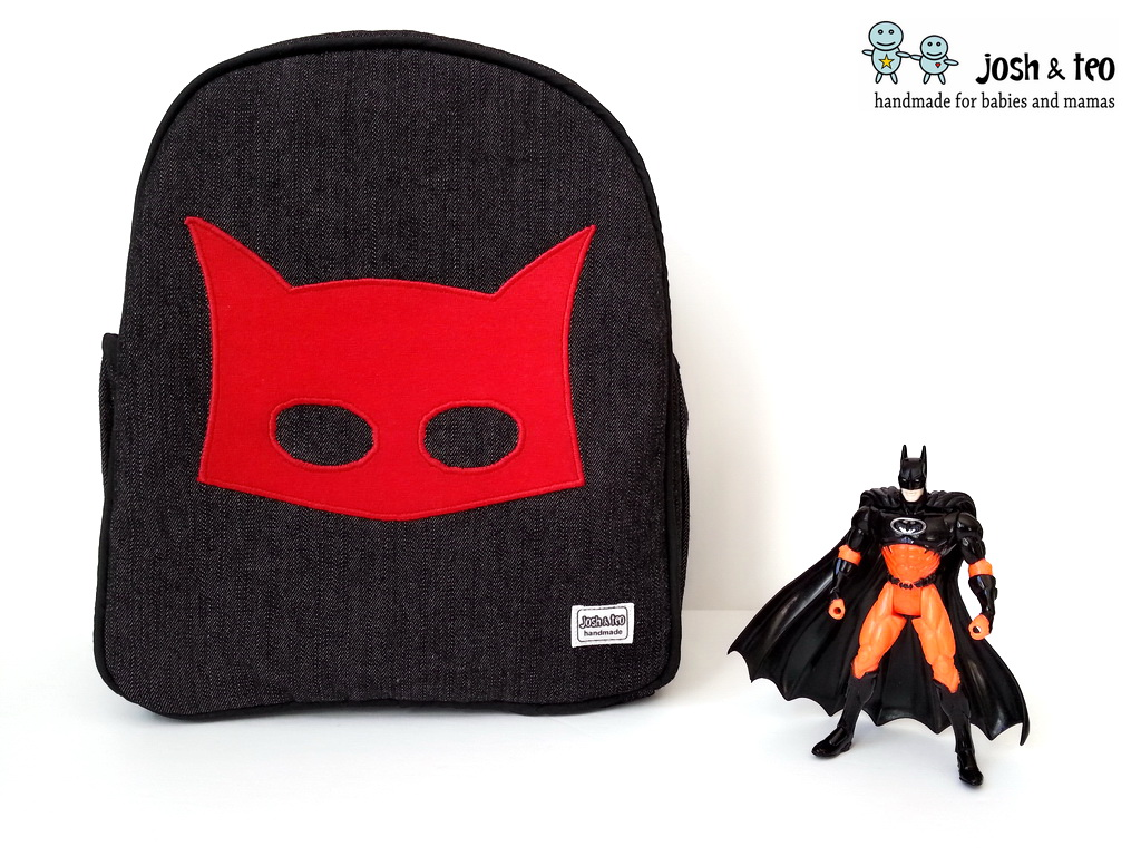 2e6d8f08aa My Handmade Home  Superhero Toddler Backpack