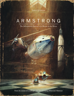 Elements of Elementary Book Review | Armstrong -- The Adventurous Journey of a Mouse to the Moon