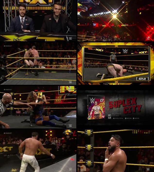 WWE NXT 21 Sept 2016 WEBRip 480p