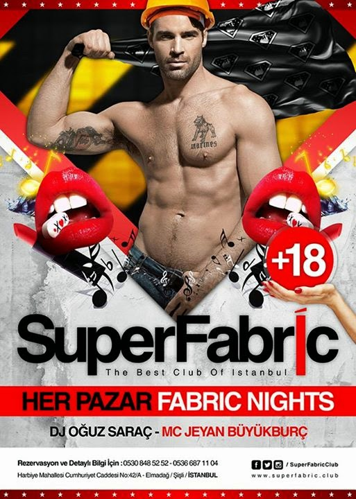SuperFabric afiş