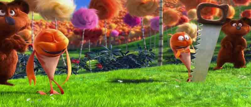 Single Resumable Download Link For Hollywood Movie The Lorax (2012) In  Dual Audio