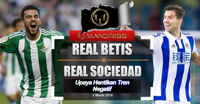 Prediksi Real Betis vs Real Sociedad 2 Maret 2018