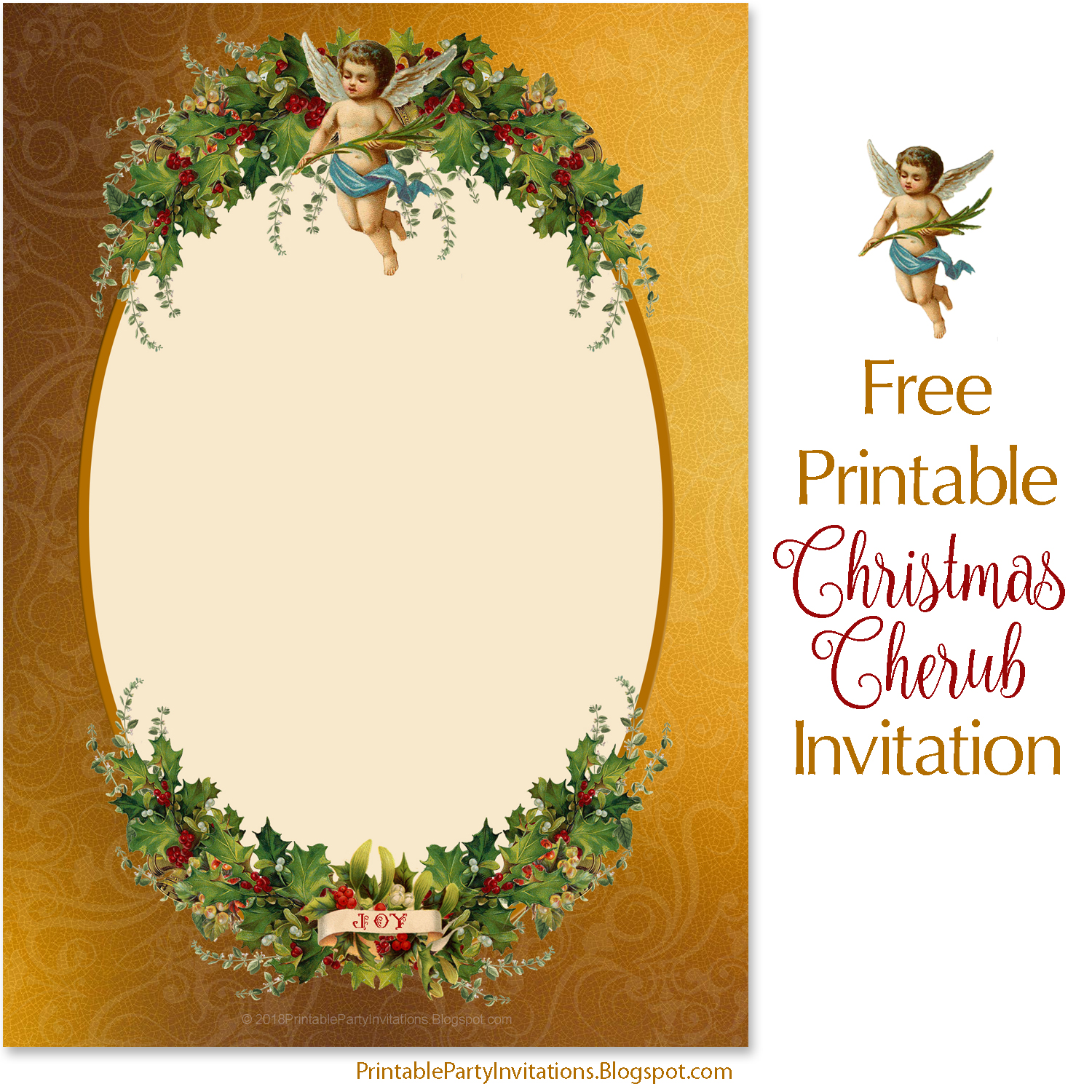 picture about Printable Christmas Invitations referred to as Cant come across subsution for tag [posting.system]--\u003e Totally free