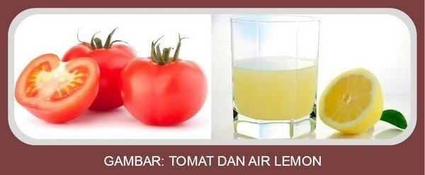Tomat dan Air Lemon