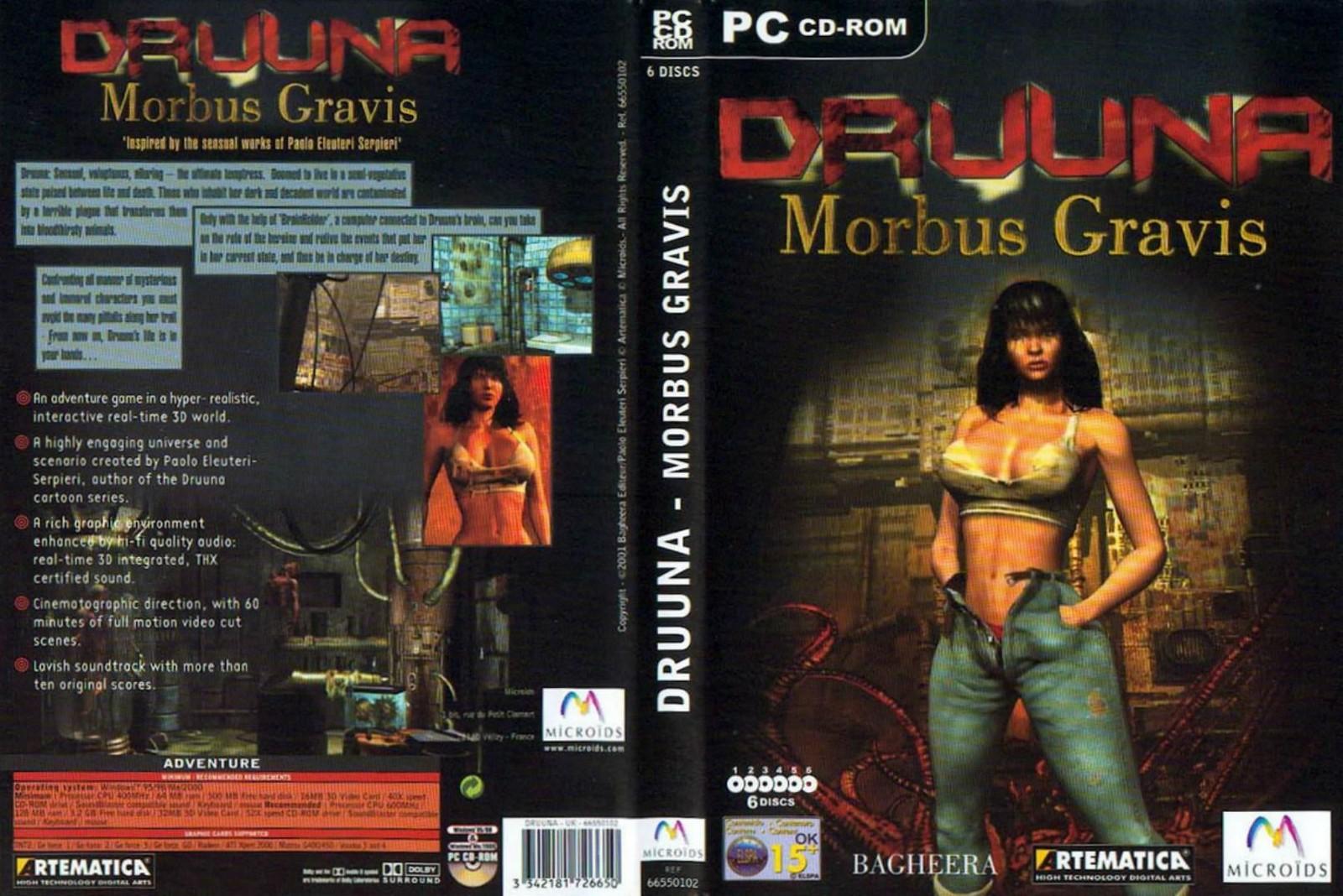 Filmovízia: Druuna - Morbus Gravis