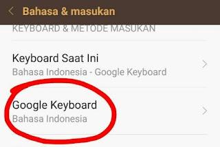Cara Menghilangkan Kamus di Keyboard Xiaomi