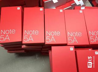 Xiaomi Redmi Note 5A Specs leaked