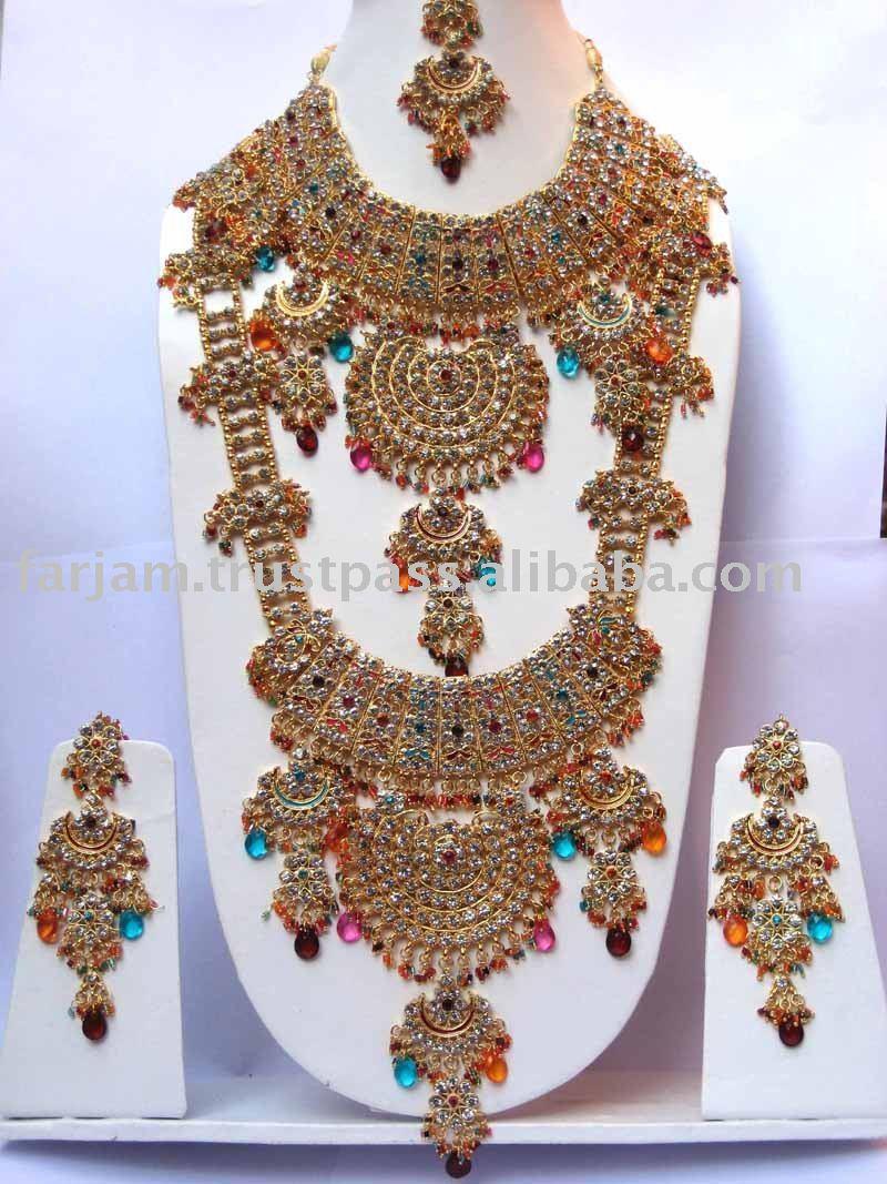 jewellery designs - gold & silver: indian bridal wedding jewellery