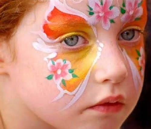 813b2df2a9b60 ألبومات صور منوعة  البوم صور لاجمل رسم على وجه الاطفال بالالوان ...