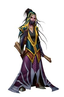 Devilmanotis Pathfinder: Aranea Sorcerer