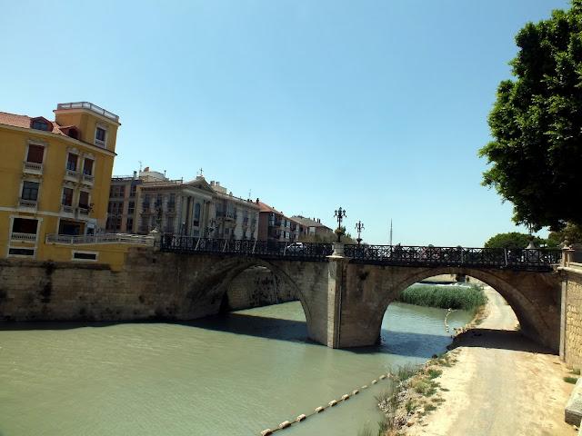 El puente Viejo de Murcia