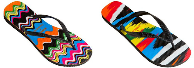 ff8f8c31403f5b Missoni Flip flops in collaboration with Havaianas