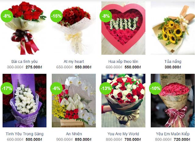 www.kenhraovat.com: Đặt hoa Online 20/10 - giảm giá ngay 10%