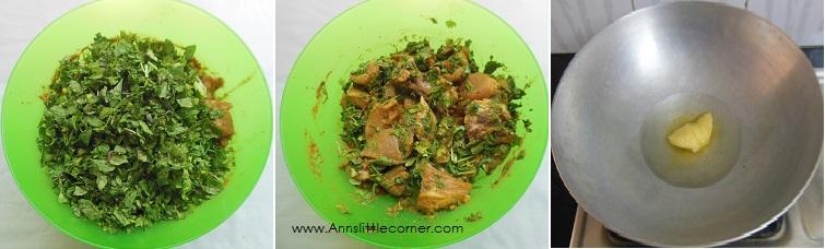 How to make Chicken Dum Biryani - Step 2