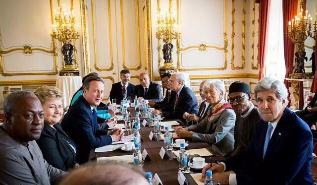 Buhari dines with Cameron 'fantastically'