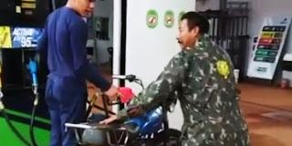 Sepeda Apa Motor...? Tapi Ngisi BBM | Bikin Ngakak
