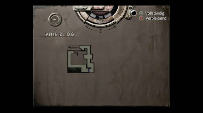 Location Map, 2nd Floor Villa, Resident Evil, HD Remaster, Jill Valentine