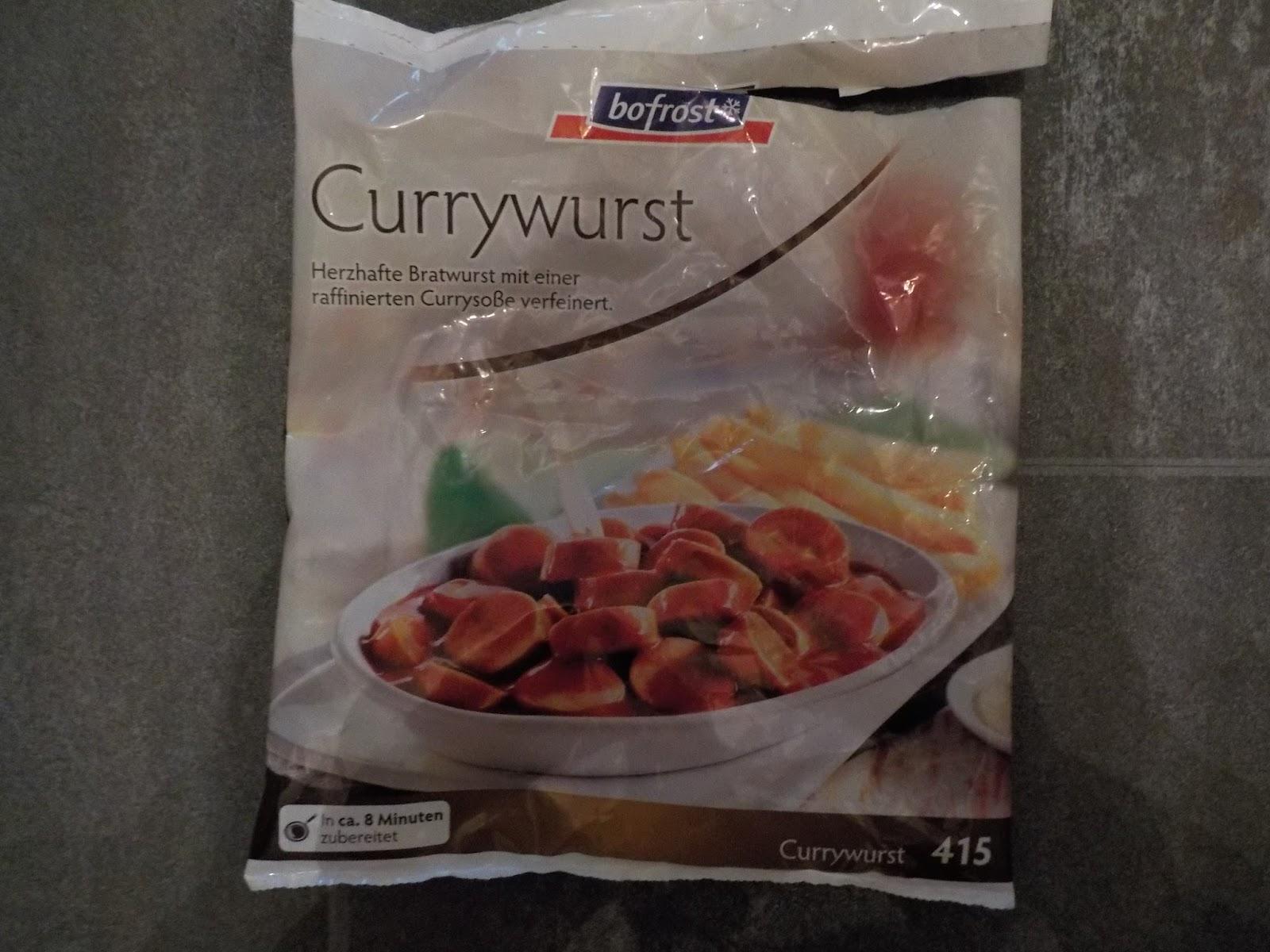 Nicoles Produkttestecke Bofrost Currywurstpommes Oderauf