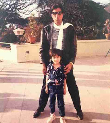 Shakti Kapoor Picture, Old Shakti With Son, Siddhanth Kapoor Photo