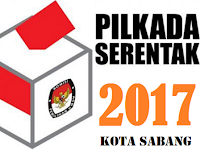 Hasil Quick Count / Hitung Cepat Pilwalkot Kota Sabang 2017