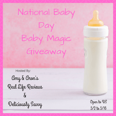 Enter the National Baby Day Baby Magic Giveaway. Ends 5/16