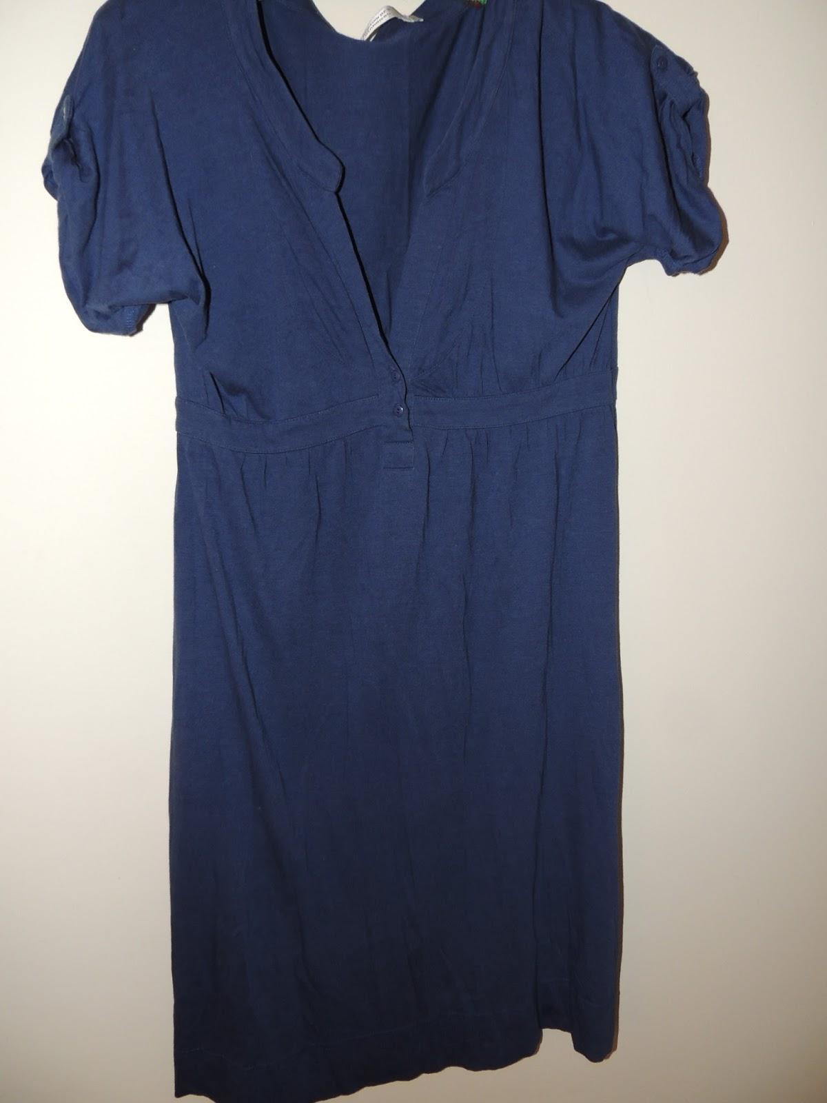 Vide dressing de misscola vintage robe en coton bleu - Vide dressing comptoir des cotonniers ...