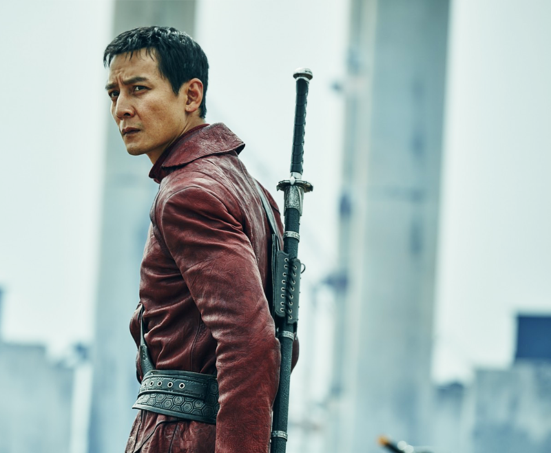 Daniel Wu as Sunny in Into the Badlands