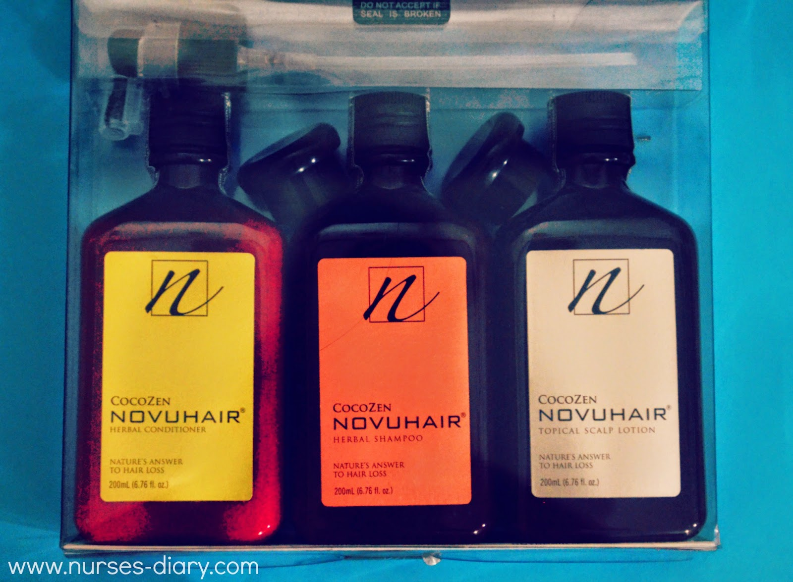 CocoZen Novuhair ; Natural Solution to Hair and Scalp Problems