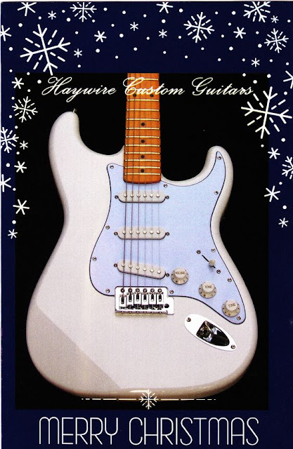 image results for a Merry Christmas guitar photo by Haywire Custom Guitars