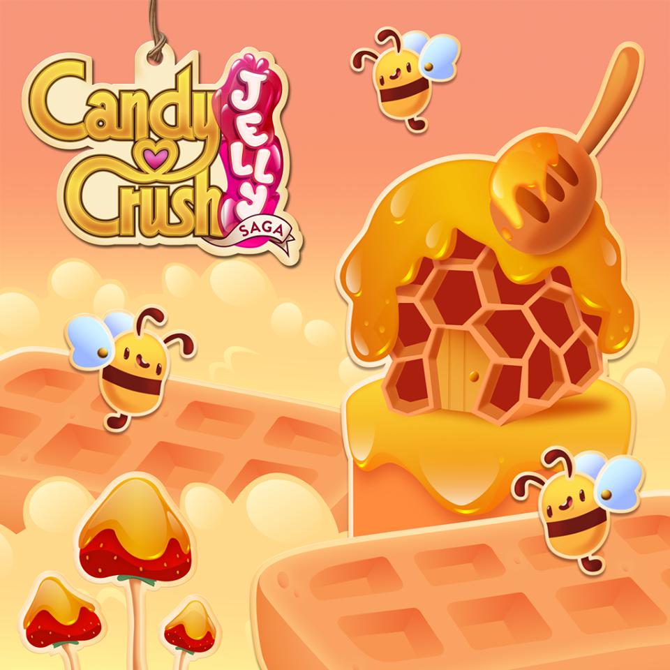 Candy Crush Jelly Saga Saga 521-540