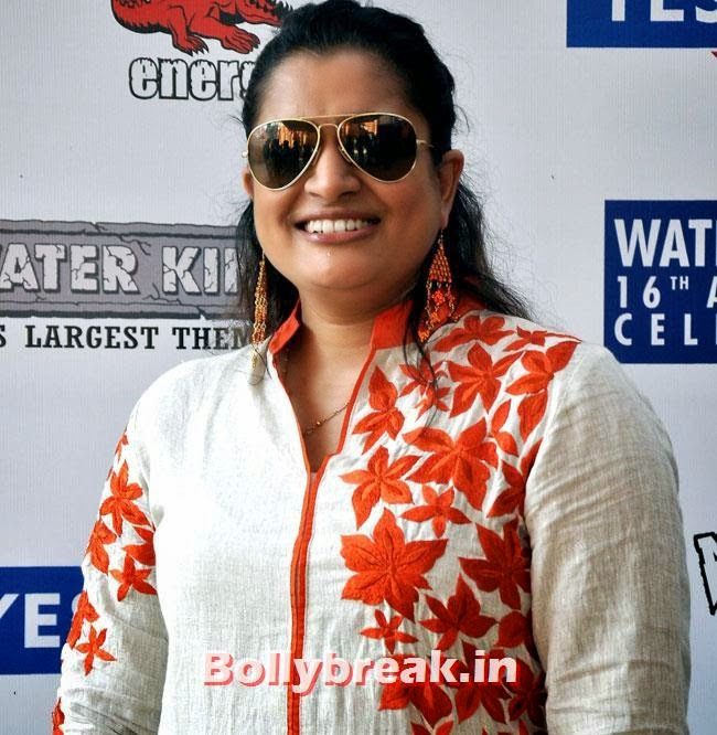 Ekta Jain, Mink Brar at 16th Anniversary of Water Kingdom