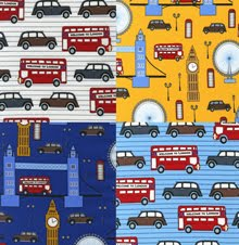 Next Stop London for Robert Kaufman Fabrics | Shipping April 2012