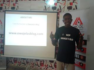 Owojela Odey teaches Blogging