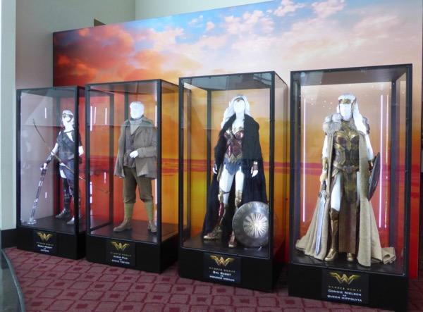 Wonder Woman movie costumes