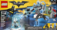 LEGO BATMAN MOVIE Mr. Freeze Ice Attack Lego 70901