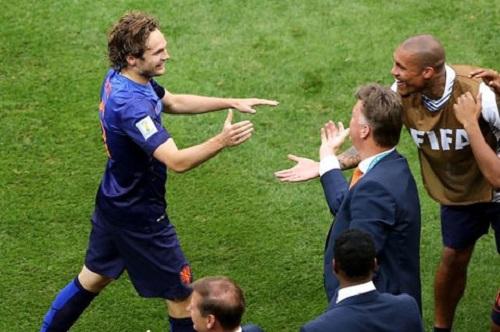 Blind là cầu thủ trụ cột của ĐTQG Hà Lan dự World Cup 2014