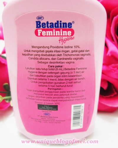 BETADINE Feminine Hygiene description