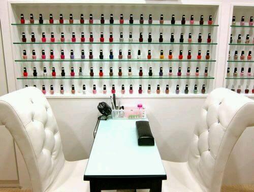 Atelie cantinho da arte ideias para sal o de beleza for 20 lounge nail salon
