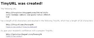 tinyurl.com http://taupintar.blogspot.com