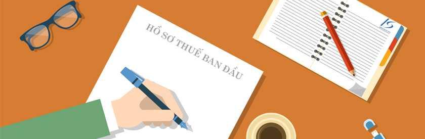 Cách nộp hồ sơ khai thuế ban đầu dành cho công ty mới thành lập