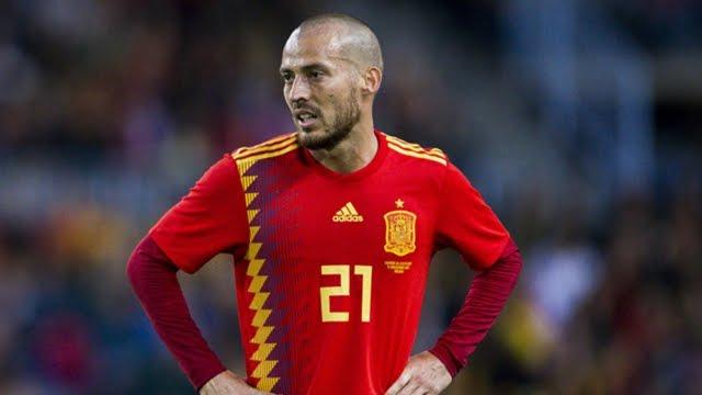 David Silva announces Spain retirement