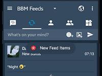 BBM MOD MidNightBlue V3.2.0.6 Apk [Trangga Ken] Terbaru