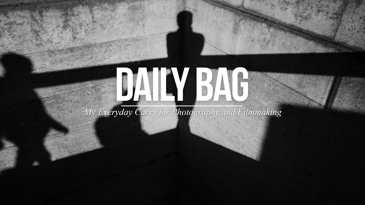 Sean Tucker´s Daily Bag for Photography and Filmmaking